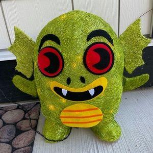Lit Monster Target Creature Halloween Decoration